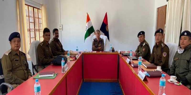 Arunachal Panchayat Election: IGP (L&O ) reviews security preparedness