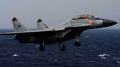 Indian Navy's MiG-29K aircraft crashes into sea; one pilot rescued, another missing