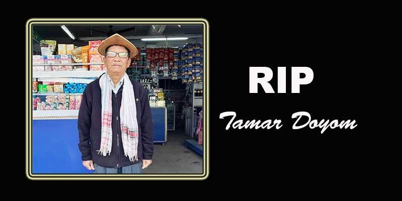 Arunachal: GWS mourns the demise of Tamar Doyom