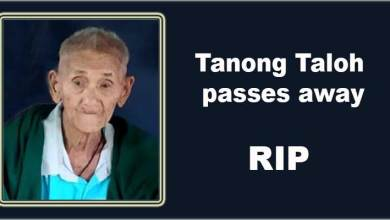 Arunachal: Head Gaon Burah of Yagrung village, Tanong Taloh passes away