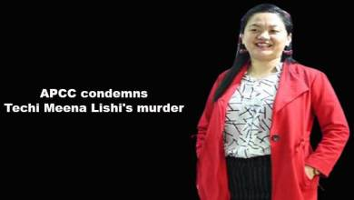 Arunachal: APCC condemns Techi Meena Lishi's murder
