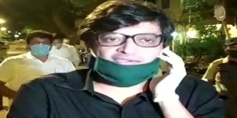 Arnab Goswami arrested by Mumbai Police- LIVE UPDATE