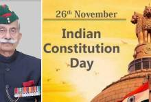 Arunachal Pradesh: Governor extends Constitution Day greetings