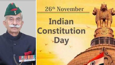 Arunachal Pradesh: Governor extends Constitution Day greetings