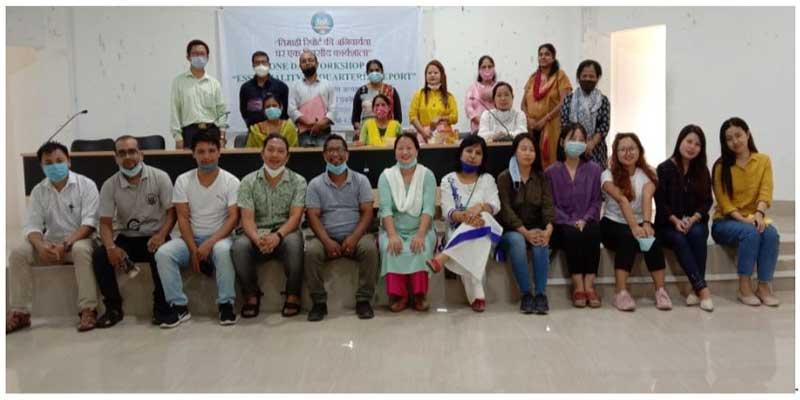 "Hindi Cell of Rajiv Gandhi University organised workshop on ""Essentiality of Quarterly Report"""