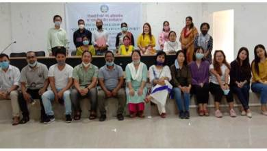 "Hindi Cell of Rajiv Gandhi University organised workshop on ""Essentiality of Quarterly Report"""