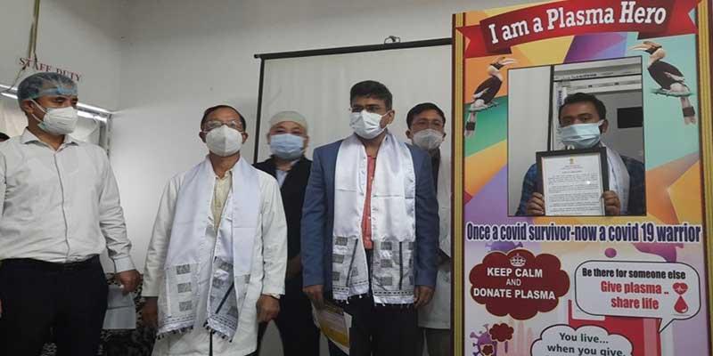 Arunachal: IMA begins plasma donation camp in TRIMHS