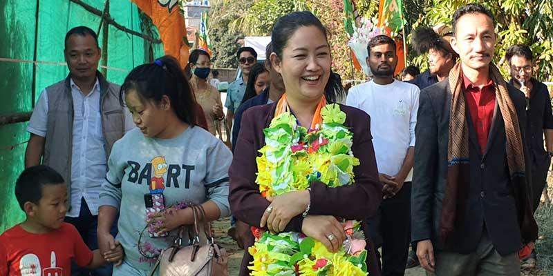 Arunachal: Meet new ZPM, Biri Santi Nido who turned politician from a model