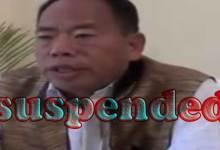 Arunachal: PPA suspends its lone MLA Kardo Nyigyor