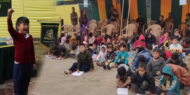 Arunachal: Army distributes Books and Stationeries at Maro