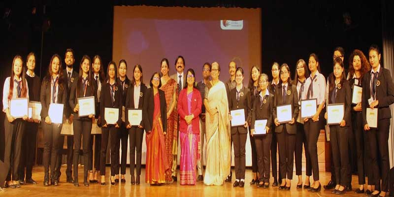 Assam: 23 students from eleven different schools across Royal Global University were felicitated