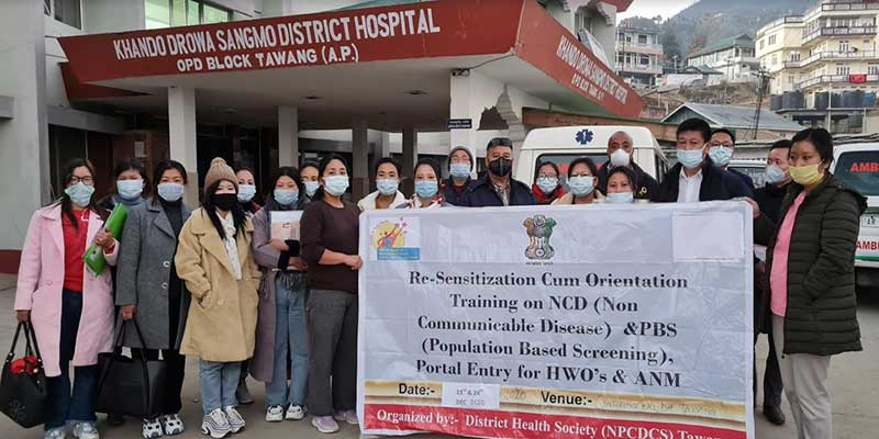Arunachal: Re-Sensitzation cum orientation training on Non communicable disease held
