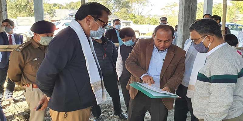 Arunachal: Chowna Mein attends DLMC review meeting