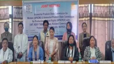 Itanagar: Joint meeting of APSCPCR and APSCW held
