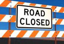 Itanagar: Road closed for cement concrete pavement work