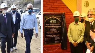 Arunachal: Secretary (Power) Govt of India visits Subansiri Lower HE Project