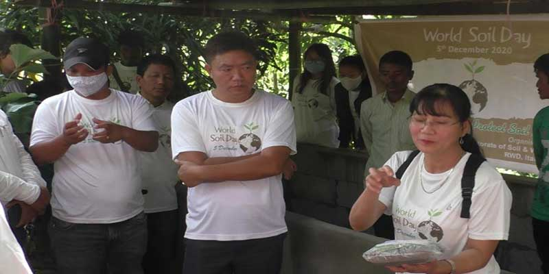 Itanagar: World Soil Day observed at Moin Village