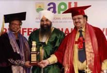 Arunachal:Apex Professional University observes it's 4thConvocation