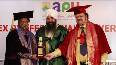 Arunachal: Apex Professional University observes it's 4th Convocation