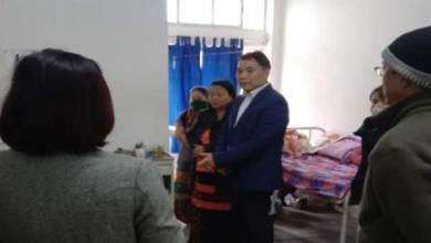 Arunachal:Alo Libang inspects Yingkiong dist hospital
