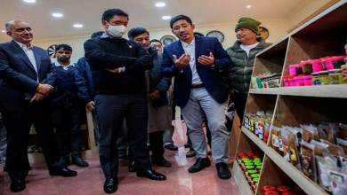 Itanagar: Khandu inaugurates 'Arunachal Fresh Food Products' outlet at civil secretariat