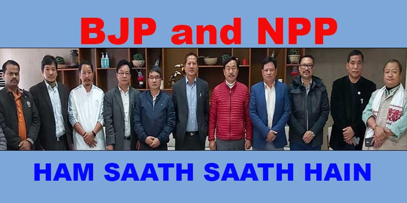 Itanagar: BJP gets NPP support to form IMC