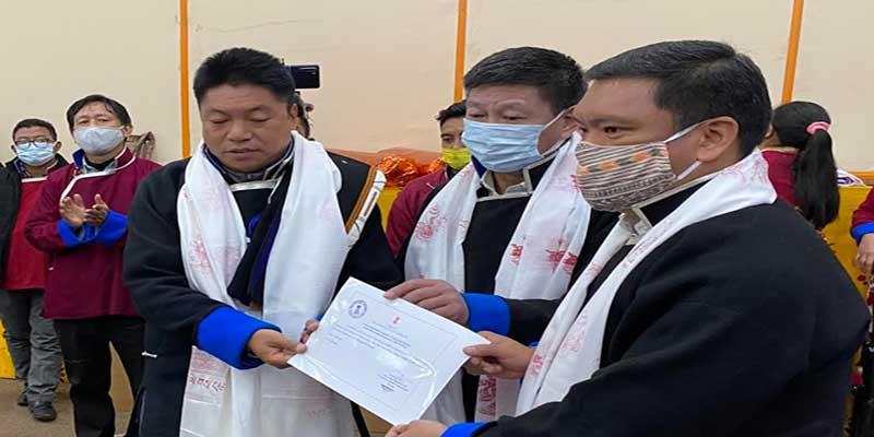 Arunachal: Pema Khandu felicitates newly elected GP and ZP Chairpersons of Tawang