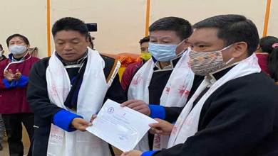 Arunachal: Pema Khandu felicitates newly elected GP and ZP Chairpersons of Tawang