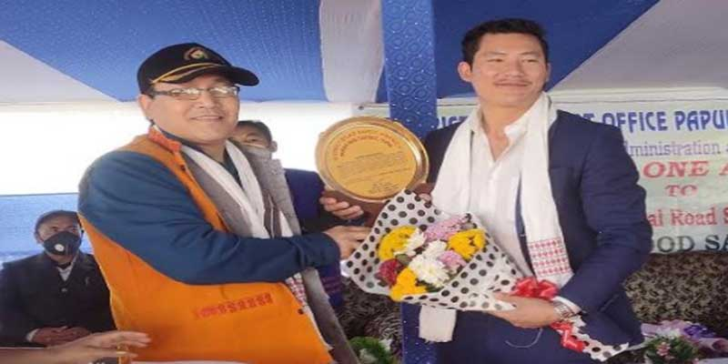 Arunachal: Road Safety Awareness programme launched in Yupia