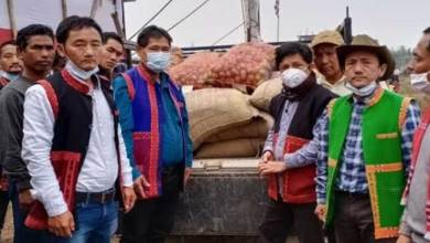 Assam: AMBK distributes relief items to Laika-Dodiya flood and National Park affected Mishing brethren