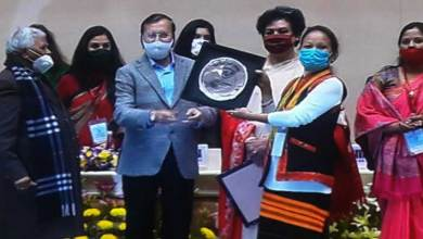 National Commission for Women, New Delhi felicitates AWW Mebo ICDS project