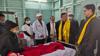 Arunachal: Kiren Rijiju inspects Nafra CHC