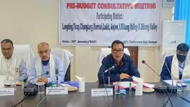 Arunachal: first regional pre-budget consultative meeting held at Namsai
