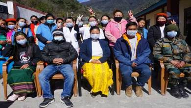 Arunachal: Covid-19 vaccination reaches Zemeithang in Tawang
