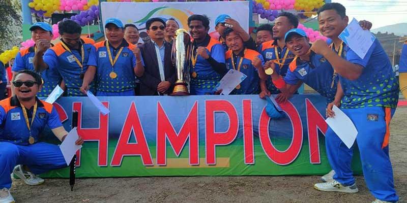 Arunachal: DC XI lifts DC Cup T20 Cricket Trophy