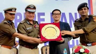Arunachal Fashion Designer honoured for designing Delhi Police Women Police Dressage