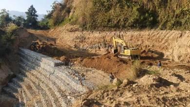 Itanagar: Restoration work of Ganga-Jully road in full swing
