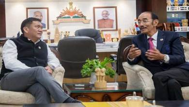 Itanagar- Hockey India President called on CM Pema Khandu