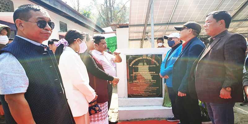Arunachal: Nabam Rebia inaugurates new building of Kimin CHC