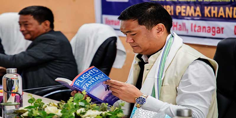 School textbooks should contain chapters on Arunachal Pradesh- Pema Khandu