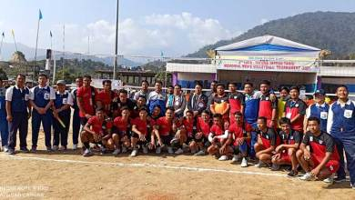 Itanagar: Tatung Tayang Taniu Memorial Men's Volleyball Tournament begins