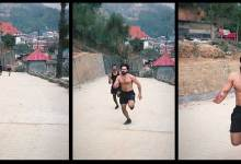 Varun Dhawan shares new VIDEO, Running Up a Slope in Arunachal Pradesh
