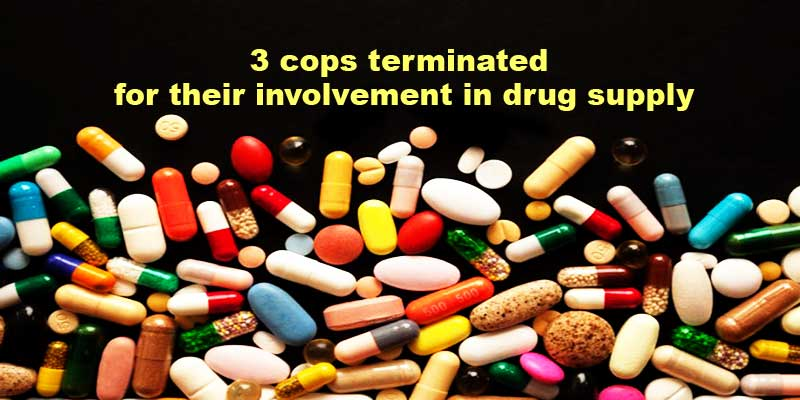Arunachal Police terminated 3 cops for their involvement in drug supply