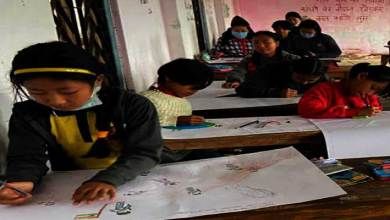 Arunachal: DIPR organised Painting And Slogan Competition in Longding