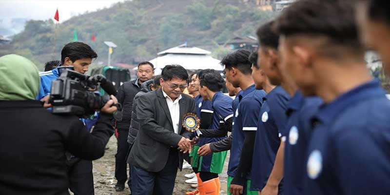 Arunachal: 1st P W Sona Football & Volleyball Tournament begins