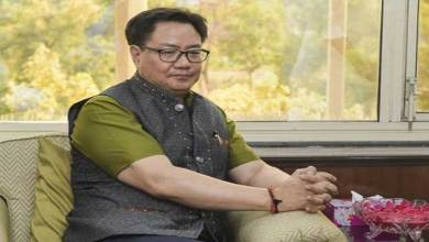 Arunachal: Union sports minister Kiren Rijiju tests positive for COVID-19