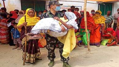 AP Police(IRBn) Shows Humanity during Election Duty in West Bengal