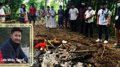 Arunachal: Media fraternity bids teary adieu to Mintu Tamuli on his last journey!