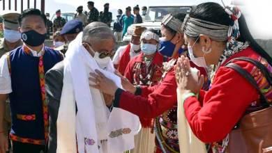 Arunachal: Governor interacts with Gaon Burahs and PRI leaders at Thrizino