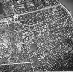 Aerial Photo Phnom Penh